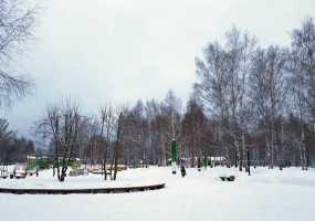 В Нижнекамске 6 градусов мороза, идет небольшой снег