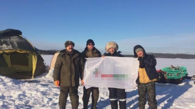 Нижнекамцы приняли участие в поднятии военного самолета из озера под Мурманском