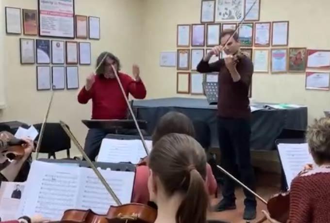 Оркестр «La Primavera» готовится к концерту в Нижнекамске