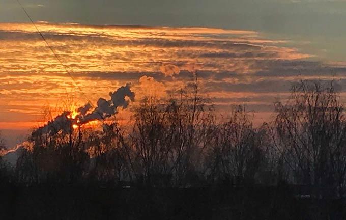 В Нижнекамске -4 градуса, ожидается десятиградусный мороз, но без осадков