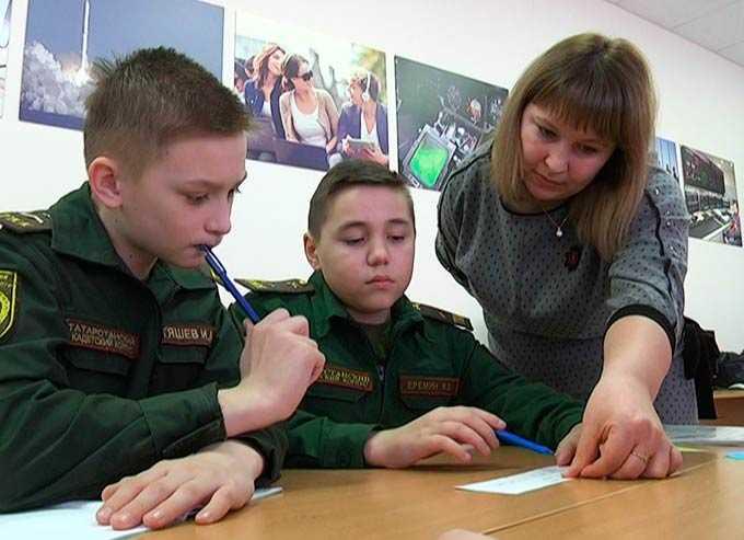 Нижнекамские кадеты показали свои математические способности на особом уроке