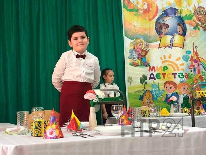 Нижнекамские малыши показали мастерство в конкурсе «Baby Skills»