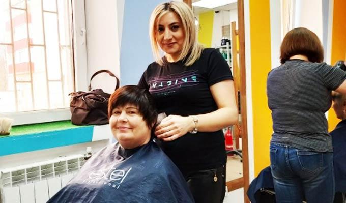 Творите добро, и оно к вам вернется: онковыздоравливающих бесплатно подстригли в нижнекамской парикмахерской