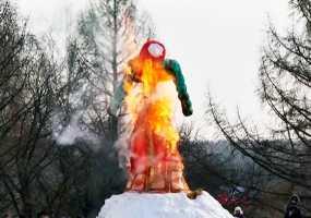 В Нижнекамске началась Масленичная неделя