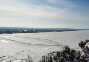 В Нижнекамске закрывается вторая ледовая переправа через Каму