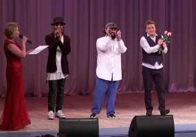 «Группа ПМ» спела на татарском языке для женщин Нижнекамска