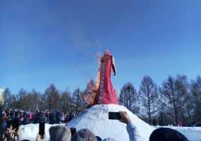 Нижнекамцы проводили зиму