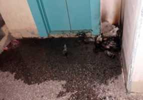 В Нижнекамске снова горят мусорки