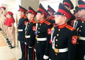 В Нижнекамске прошли республиканские соревнования среди юнармейцев