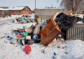 После публикации в СМИ в двух сёлах Нижнекамского района вывезли мусор