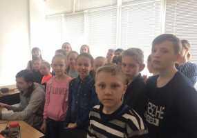 «Декада отрытых дверей НТР».  Ученики школы №36, 4-й класс
