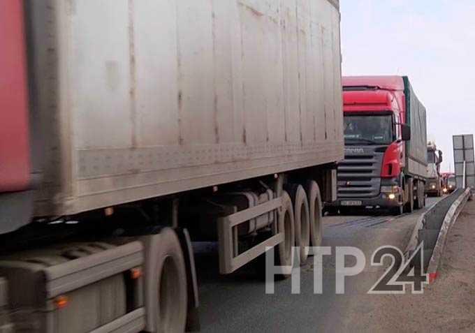 В Нижнекамске введен особый режим передвижения по автодорогам