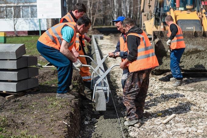 В Нижнекамске отремонтируют 7 га придомовых территорий