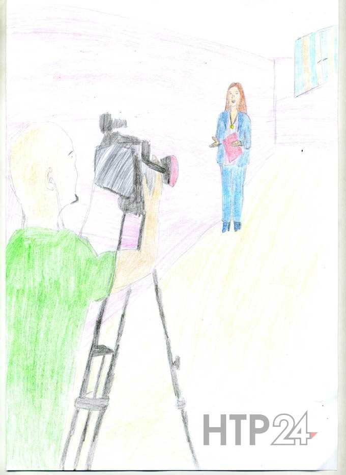 """Участник конкурса """"Я смотрю НТР-2019"""": Аделина Гайнутдинова, татарская гимназия №2, 3-й класс"""
