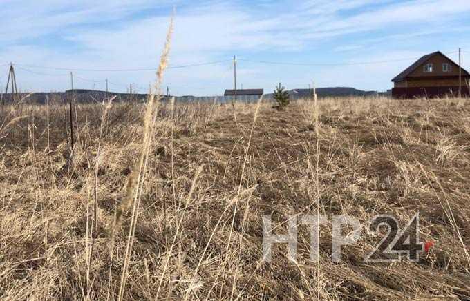 В селе Борок Нижнекамского района существует угроза масштабных пожаров