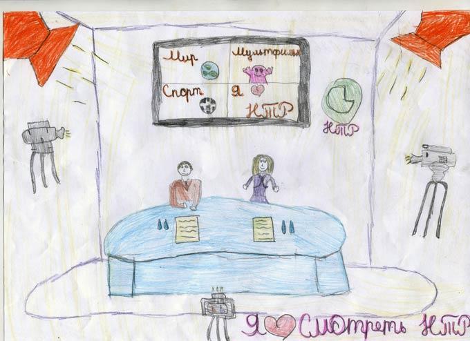 """Участник конкурса """"Я смотрю НТР-2019"""": Аделя Залалетдинова, гимназия №2, 3-й класс"""