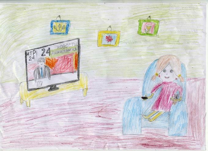 """Участник конкурса """"Я смотрю НТР-2019"""": Алсу Суфиярова, 5 лет"""