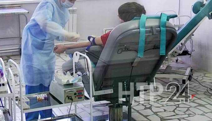 Нижнекамские судебные приставы сдали кровь на спасение людей