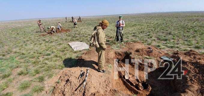 Поисковики из Нижнекамска «подняли» солдата Великой Отечественной войны