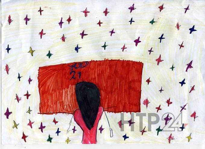 """Участник конкурса """"Я смотрю НТР-2019"""": Полина Тимофеева, 8 лет"""