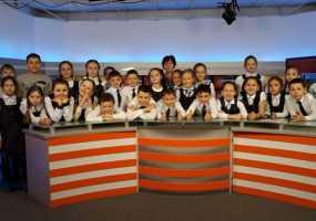 Ученики второй нижнекамской гимназии приняли участие в конкурсе «Я смотрю НТР»