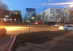 В Нижнекамске водитель сбила четырехлетнего малыша