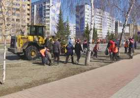 С городских улиц в Нижнекамске вывезено более 270 кубометров мусора