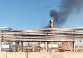 В Нижнекамск на место пожара в промзоне выехал министр здравоохранения РТ