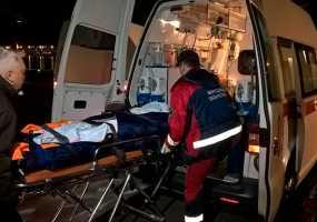 Спецборт МЧС доставил двух пострадавших на нижнекамском предприятии в Казань