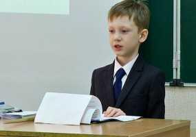 Во время научного батла в Нижнекамске первоклассник рассказал о важности правильного сна