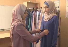 В Нижнекамске прошел показ мод мусульманской одежды
