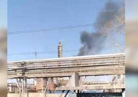 Очевидцы пожара на «Нижнекамскнефтехиме» рассказали, из-за чего произошло ЧП