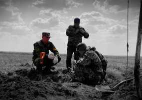 Поисковики отряда «Нефтехимик» из Нижнекамска собирают фронтовое «железо» на строительство храма
