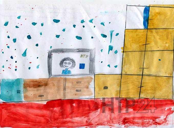 """Участник конкурса """"Я смотрю НТР-2019"""": Дарья Истрафилова, 7 лет"""