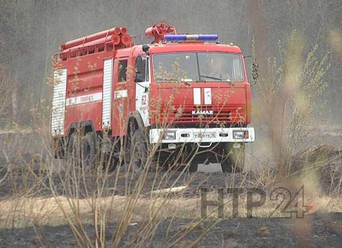 За месяц в Нижнекамском районе произошло 54 возгорания сухой травы и мусора