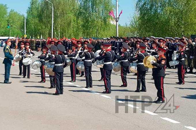 В Нижнекамске состоялся Парад Победы в честь 74-й годовщины разгрома фашистской Германии