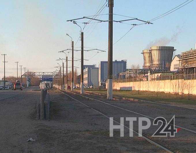 В Нижнекамске в четверг произошел пожар на градообразующем предприятии
