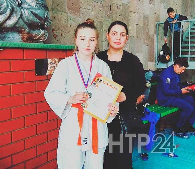 Спортсменка из Нижнекамского района отметилась в престижном республиканском турнире по дзюдо
