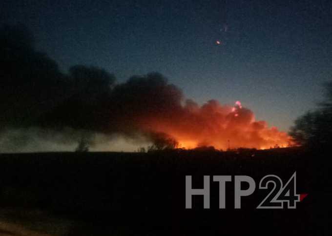 В понедельник вечерний Нижнекамск окутал едкий смог