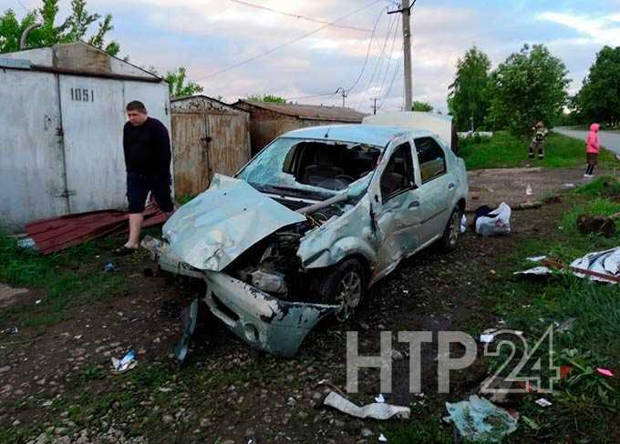 В Нижнекамске пьяный подросток на чужой машине совершил серьезное ДТП