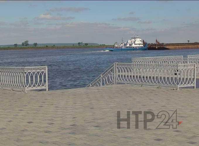 В Нижнекамском районе повышается уровень воды в Каме