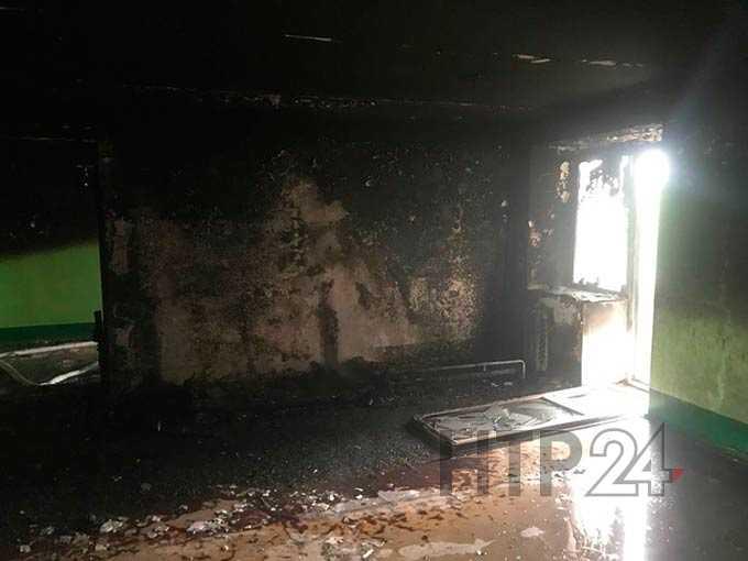 Огнеборцы из Нижнекамска спасли на пожаре троих детей