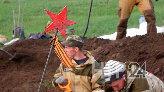 Находка поискового отряда «Нефтехимик» из Нижнекамска поможет отыскать родственников погибшего солдата