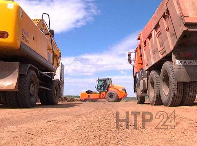 В Нижнекамске началось строительство новой современной дороги