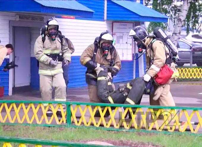 Пожарные из Нижнекамска искали пострадавшего «Яшку»