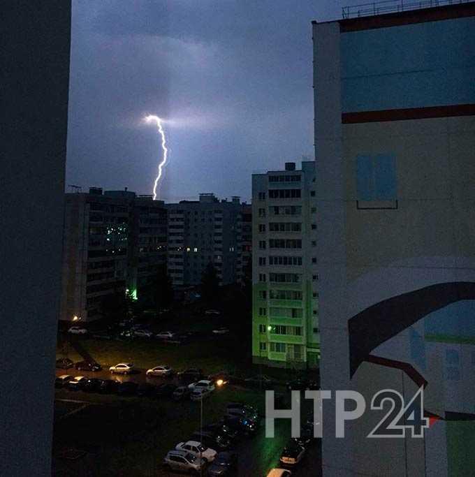 В Нижнекамск вновь возвращаются дожди и сильный ветер