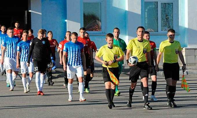 Футбольный «Нефтехимик» из Нижнекамска готовится к очередной игре