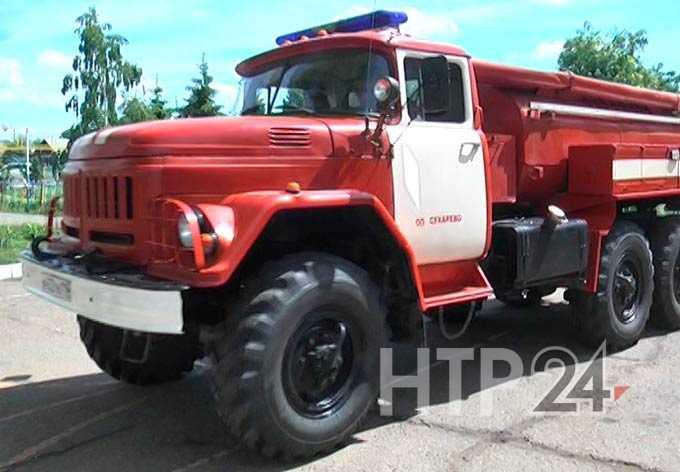 В Нижнекамском районе усиливают работу по профилактике пожаров на селе