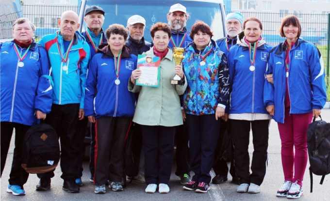 Нижнекамские пенсионеры - в числе самых спортивных жителей Татарстана