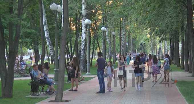 В Нижнекамске установится летняя погода